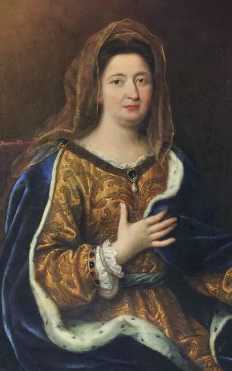 Françoise d'Aubigné par Pierre Mignard vers 1694 (collections du musée de Versailles)