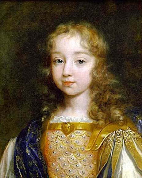 Louis XIV à l'âge de huit ans en costume romain – Musée de Versailles