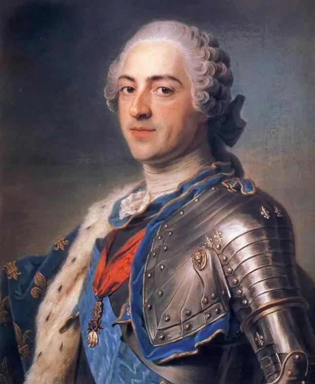 Louis XIV par Maurice Quentin de La Tour