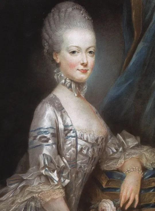 Marie-Antoinette peinte vers 1770 par Joseph Ducreux – Musée du château de Versailles et de Trianon