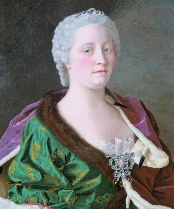 Marie-Thérèse d'Autriche par Jean-Etienne Liotard