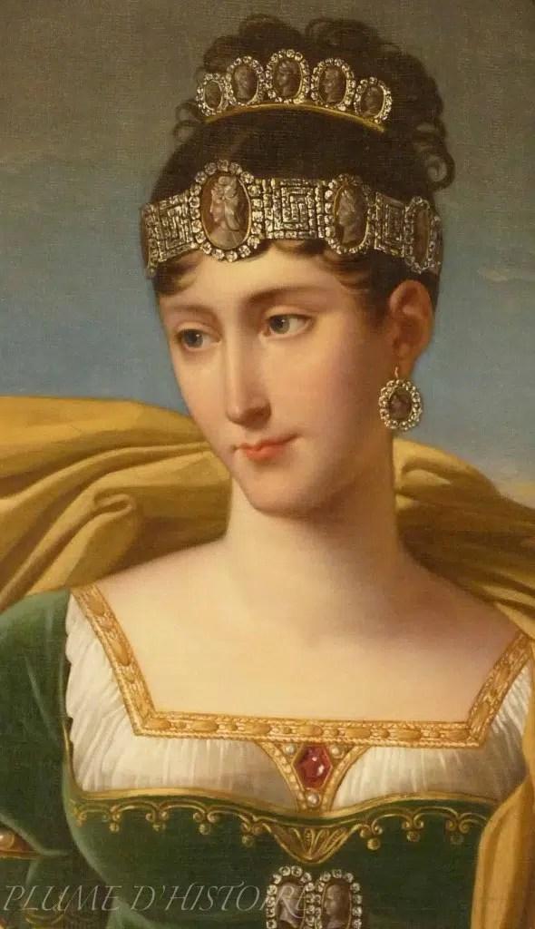 Pauline Bonaparte par Robert Lefèvre vers 1809