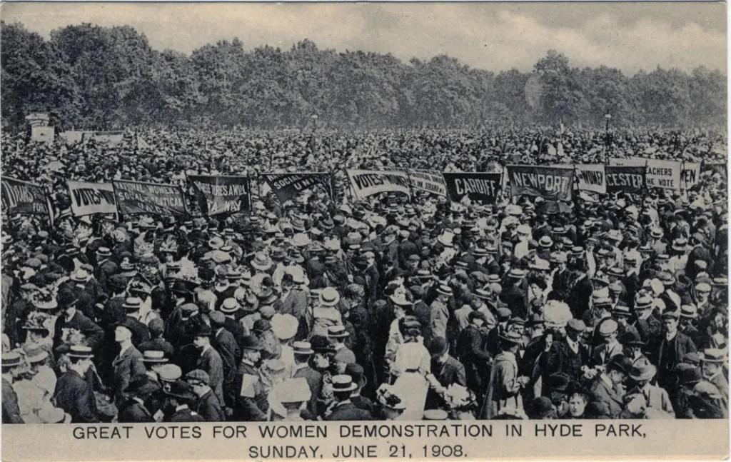 Hyde Park 21 juin 1908