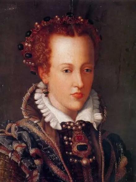 Jeanne d'Autriche, grande-duchesse de Toscane, par Alessandro Allori
