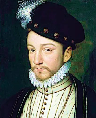 Charles IX vers 1570 - Chantilly Musée Condé