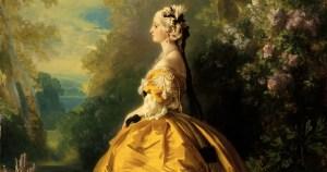 L'Impératrice Eugénie et les arts : inspiration Marie-Antoinette