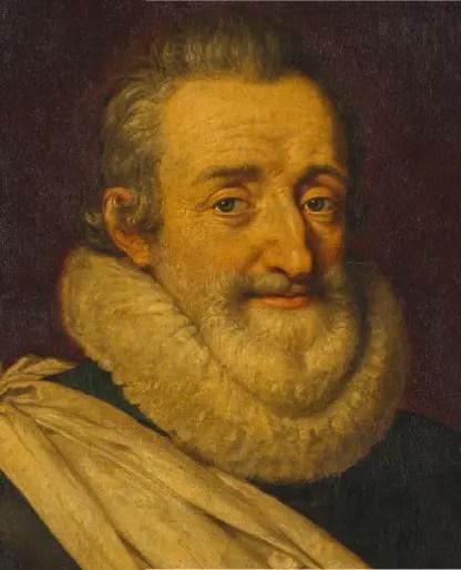 Henr IV par Pourbus le Jeune - Château de Versailles