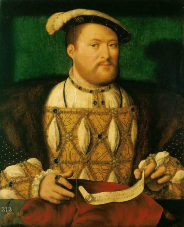 Henri VIII vers 1530-35 par Joos van Cleef, collection royale britannique