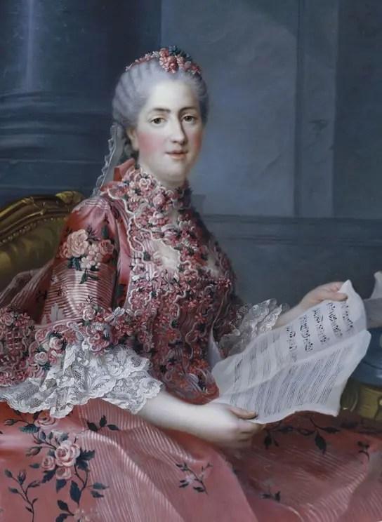 Madame Sophie par Drouais - collections du château de Versailles