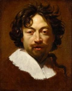 Simon Vouet, autoportrait vers 1627