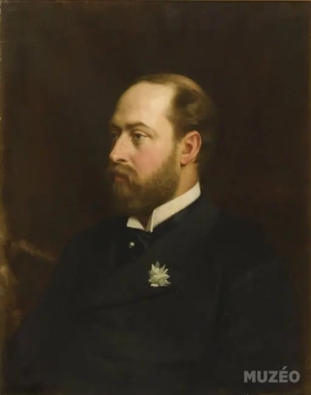Edouard, prince des Galles, futur Edouard VII d'Angleterre, par Gordigiani Michel