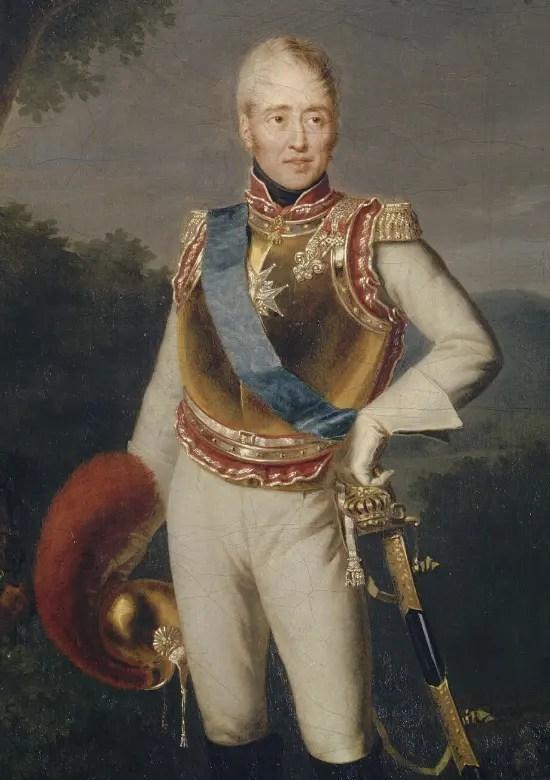 Charles de Bourbon, comte d'Artois, en 1818 par Charles Duchesne
