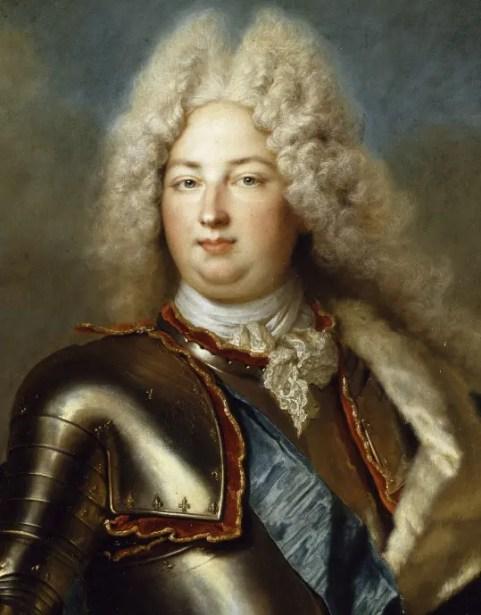 Charles, duc de Berry et troisième petit-fils de Louis XIV, par Nicolas de Largillière (château de Versailles)