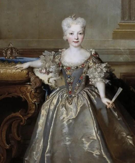 Marie-Anne de Bourbon par Nicolas de Largillière, en 1724 (Musée du Prado)
