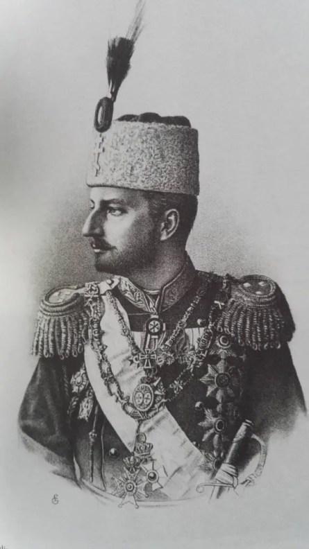 Ferdinand Ier de Bulgarie, gravure (Collection D. Carlos Tasso)