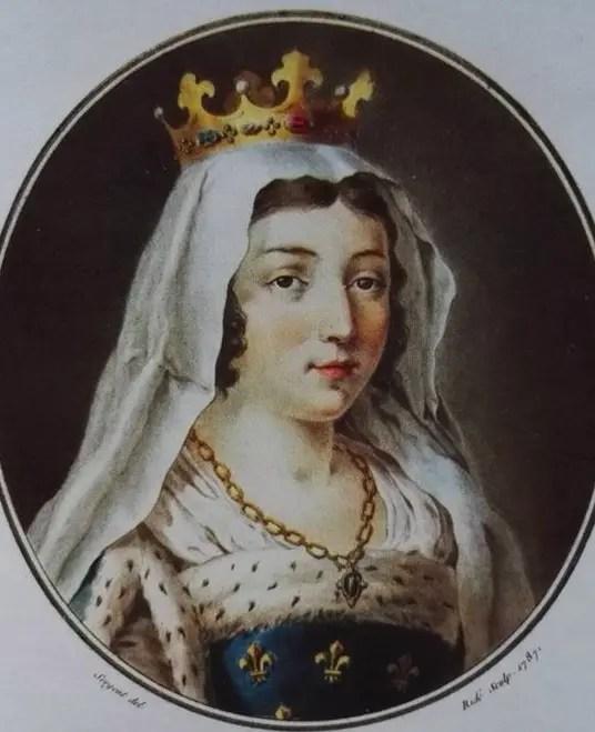 Portrait imaginaire de Blanche de Castille