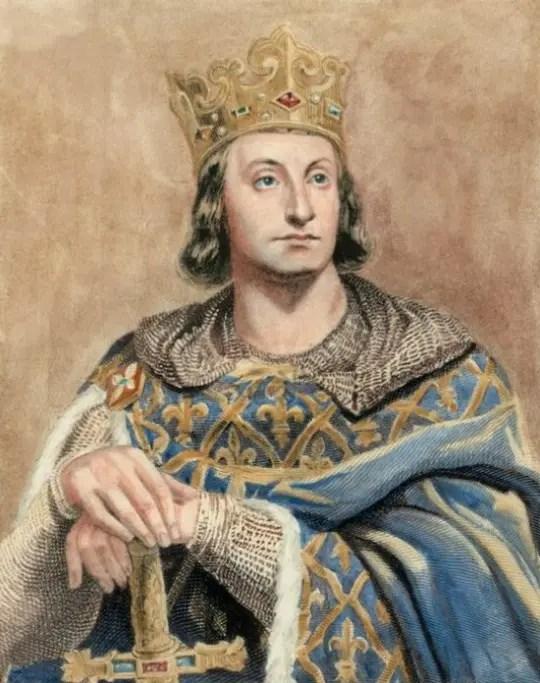 Portrait imaginaire de Philippe-Auguste