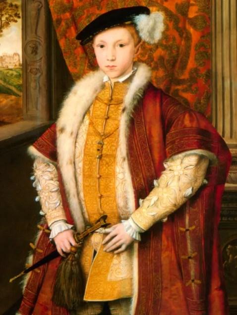Edward VI aux alentours de 1546