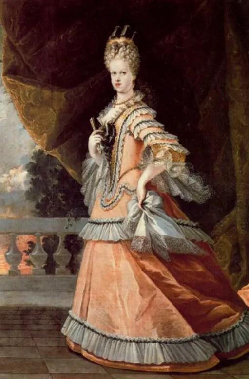Marie-Louise en 1708 par l'atelier de Melendez