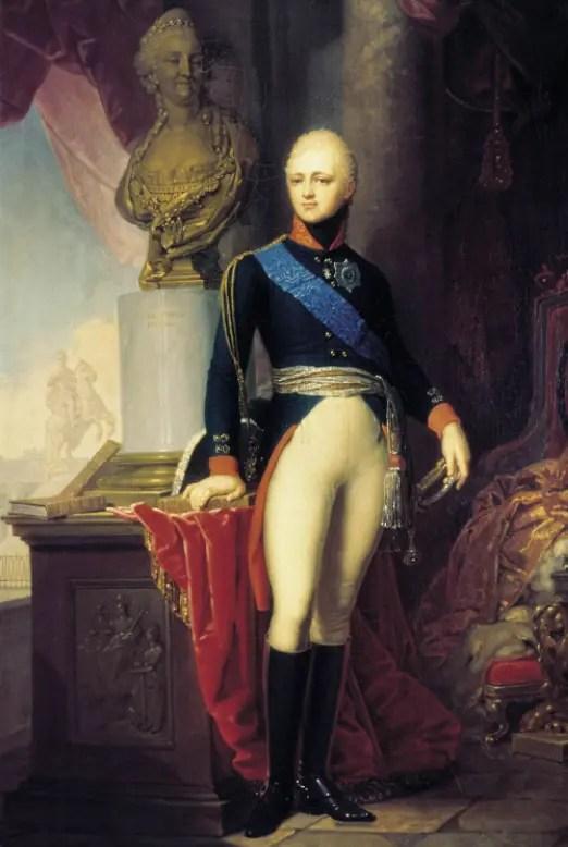 Le grand-duc et tsarévitch Alexandre, par Vladimir Borovikovsky en 1800