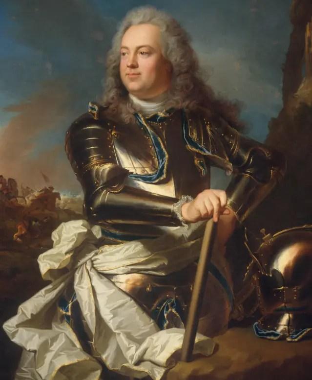 Louis-Henri de La Tour d'Auvergne, comte d'Évreux, par Hyacinthe Rigaud (Metropolitan Museum Of Art, 1720 environ)