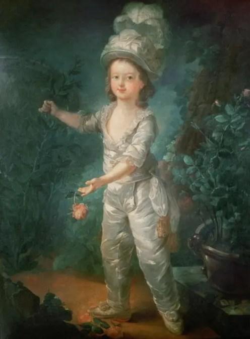 Le Dauphin Louis-Charles par Dagoty - St James Gallery, Londres