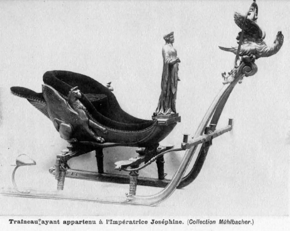 Traîneau de l'Impératrice Joséphine