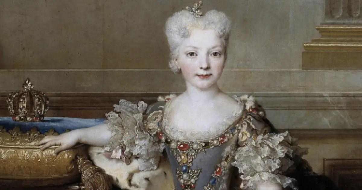 Marie-Anne de Bourbon, éphémère fiancée de Louis XV