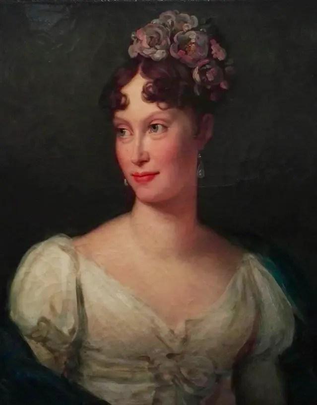 Marie-Louise l'année de son mariage, par le baron Gérard (Musée du Louvre)