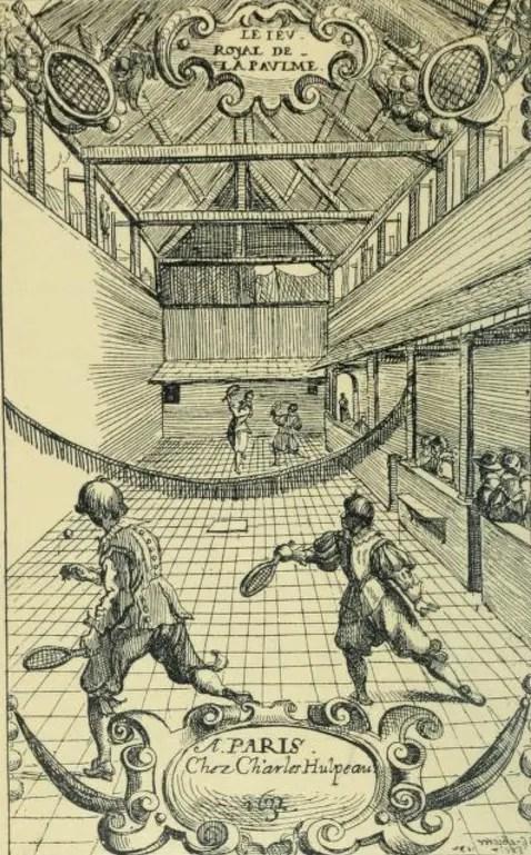 Le jeu de paume à l'époque Louis XIII