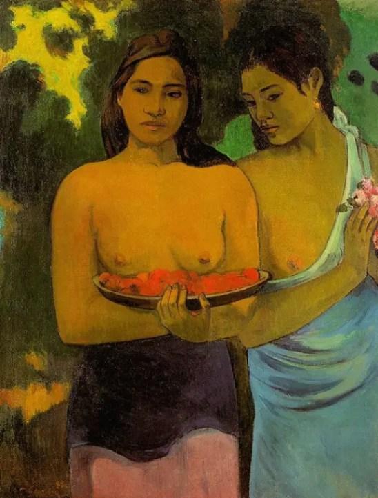 Deux femmes tahitiennes (1899)