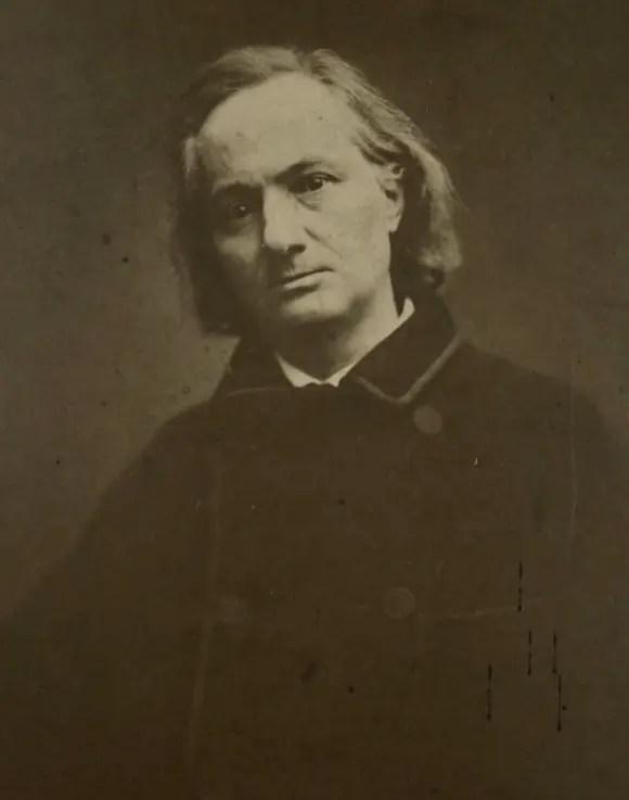 Baudelaire 2 ans avant sa mort par Etienne Carjat