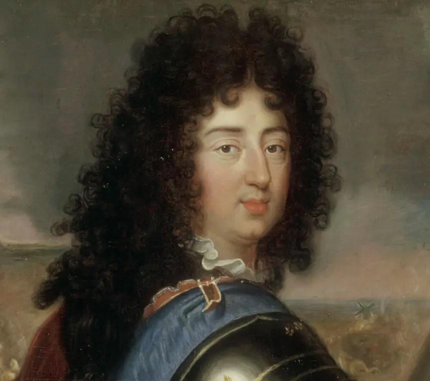 Philippe d'Orléans par Corneille l'Aîné - Détail © RMN-Grand Palais (Château de Versailles) / Gérard Blot