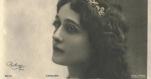 Lina Cavalieri, la cantatrice au baiser