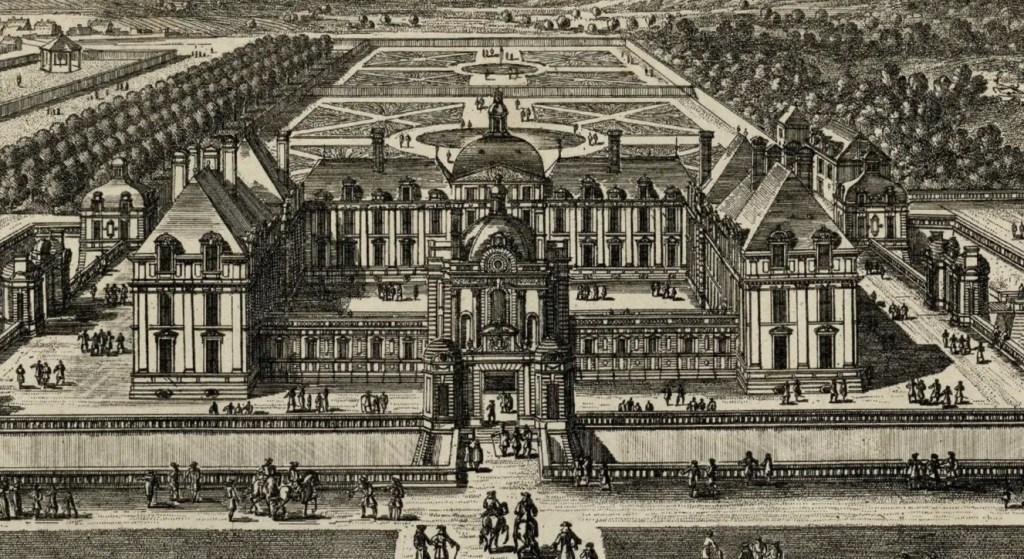 Le château de Montceaux au début du XVIIème siècle