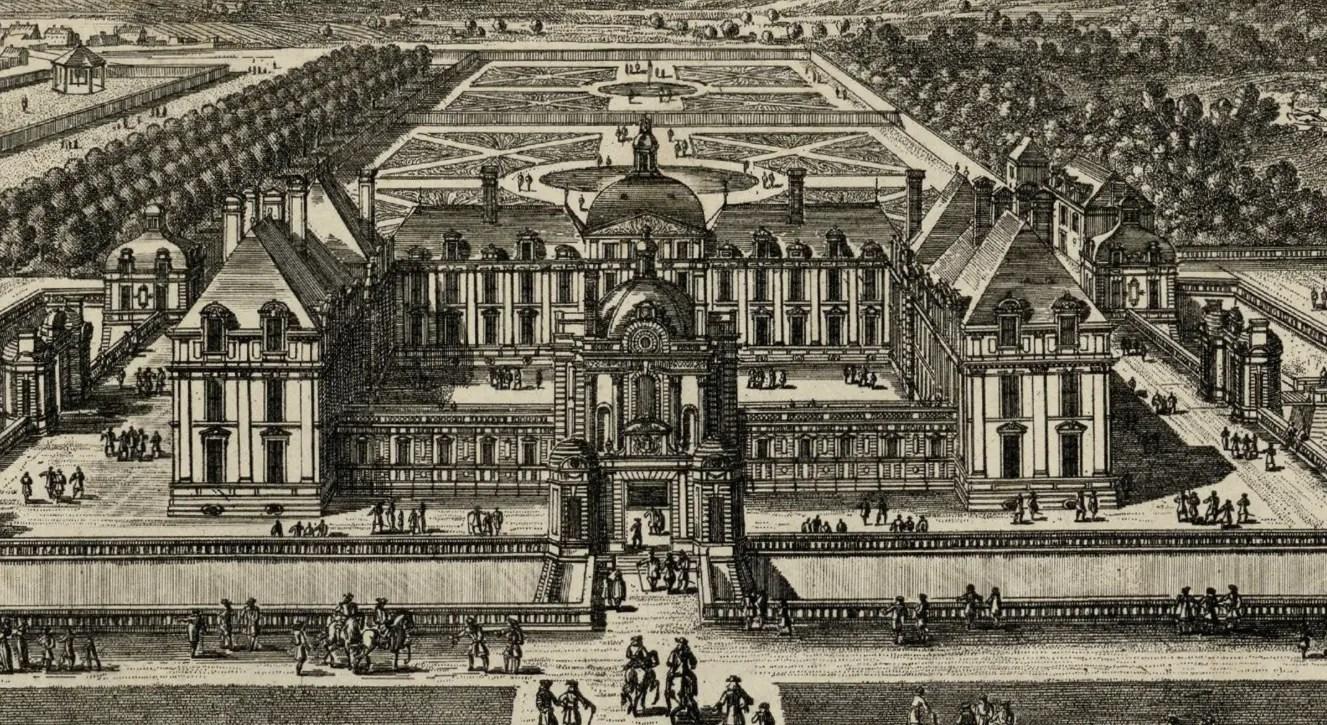 le chateau de montceaux au debut du 17eme siecle