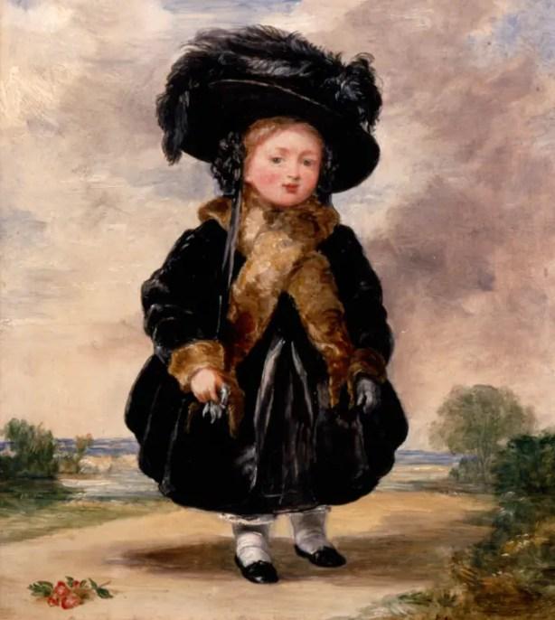 Drina en 1823 agee de 4 ans - Dulwich Picture Gallery