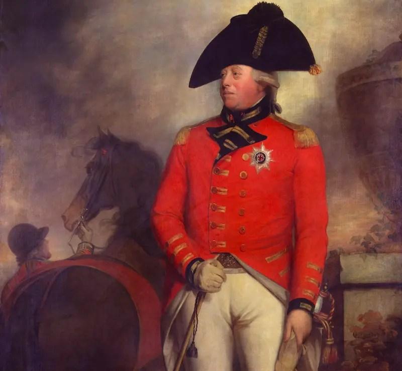roi george III atelier de William Beechey vers 1800 - Portrait Gallery
