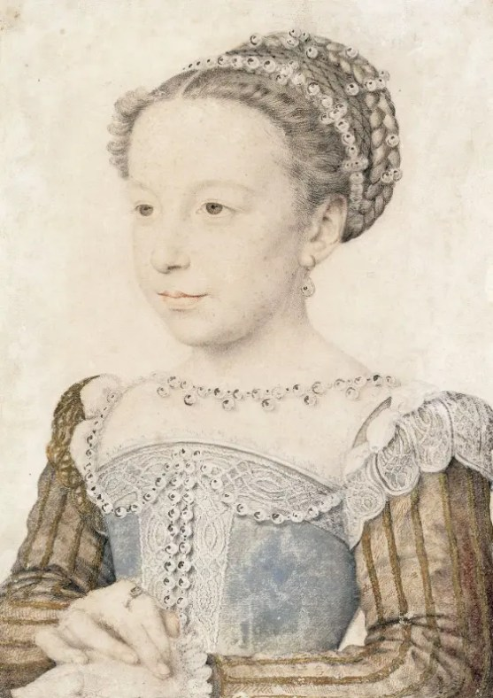 Marguerite de France six ans vers 1559 - Francois Clouet - Chantilly musee Conde