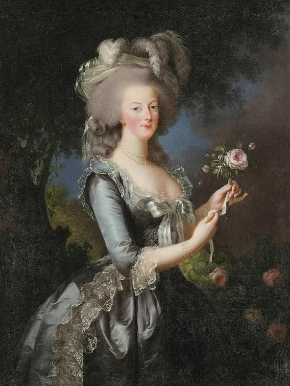 Marie-Antoinette a la rose