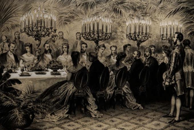 Le dîner des souverains