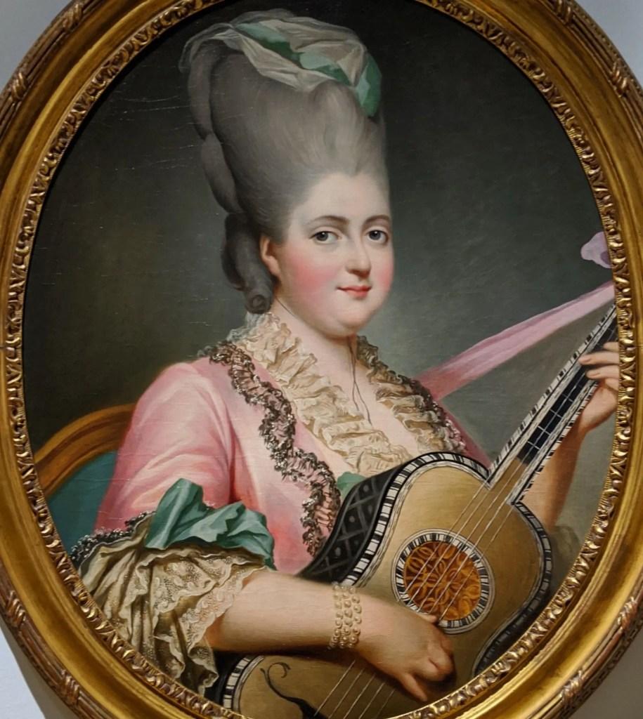 Madame Clotilde par Ducreux