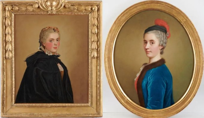 Portraits par Liotard