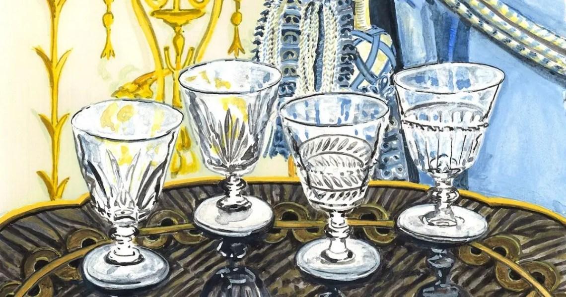 Galerie des reines cristal Saint-Louis