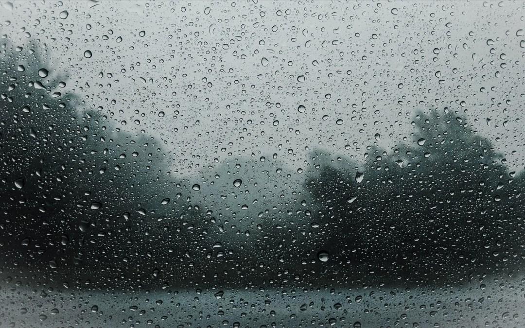 Il pleut sans arrêt