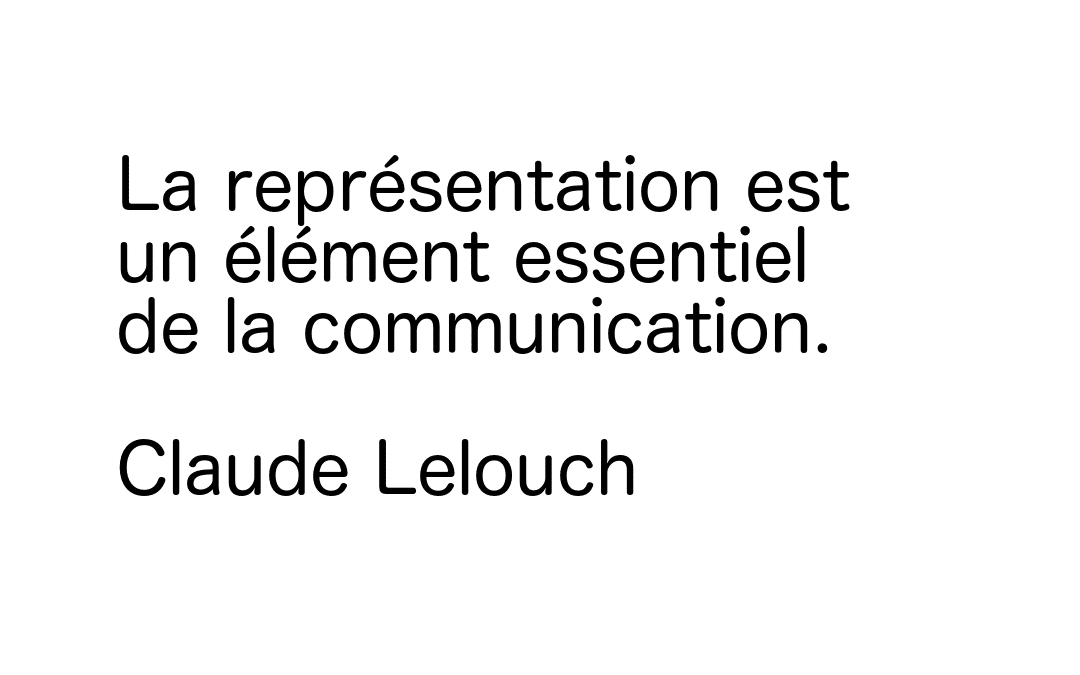 plumebis correctrice représention communication claude lelouch