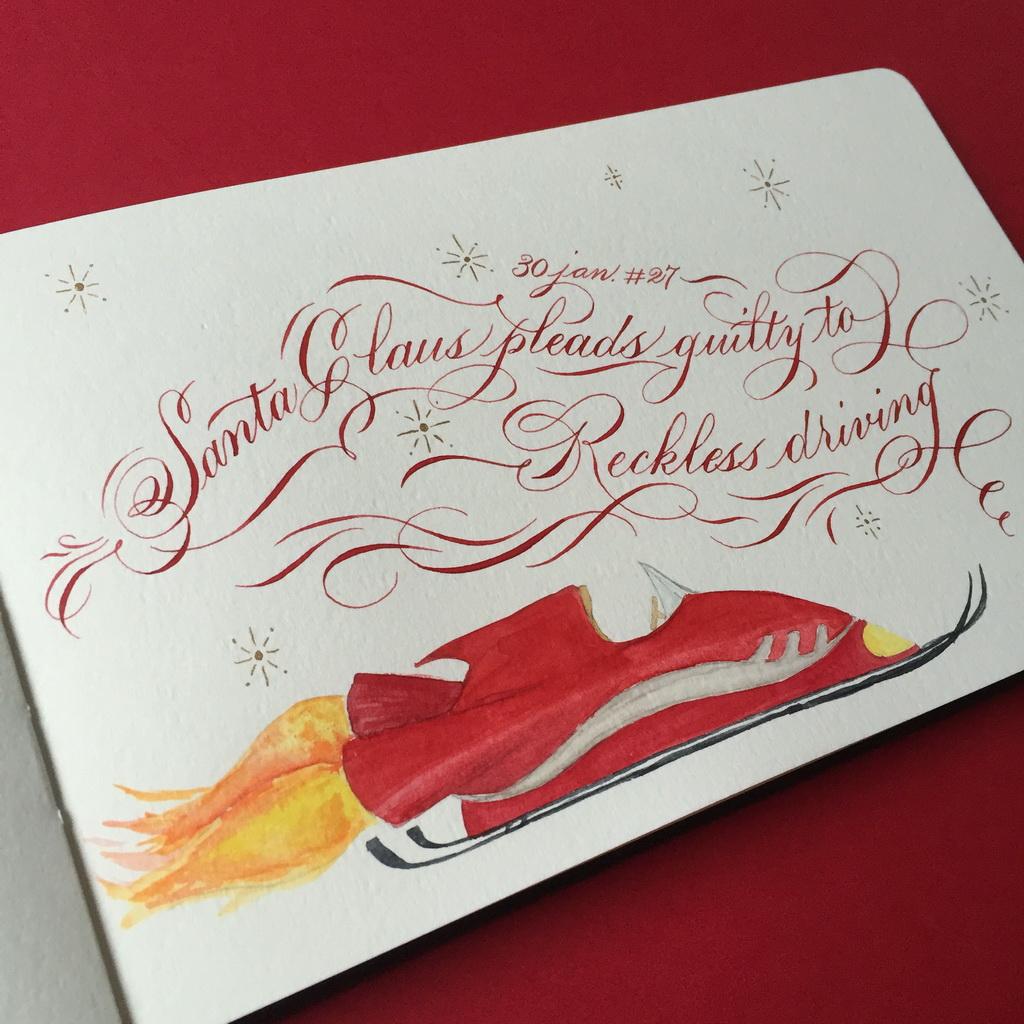 Calligraphie Noel