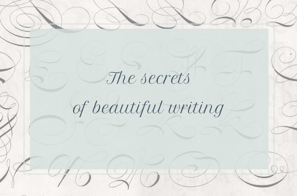 The secrets of beautiful writing