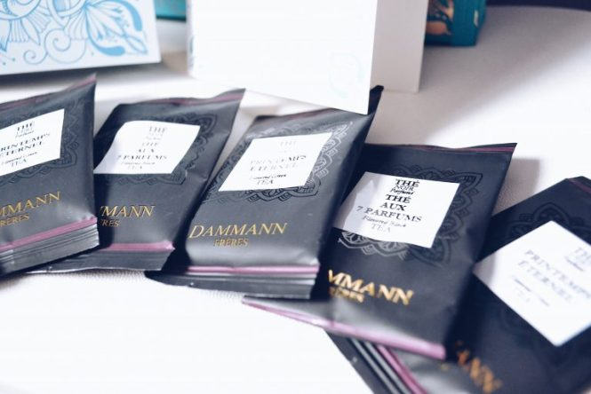 damman paris tea