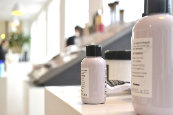 davines showroom blog mode